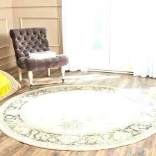 9 ft round area rug