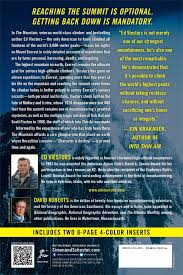 into thin air essay top stories of mt everest bodies some just  the mountain my time on everest ed viesturs david roberts the mountain my time on everest