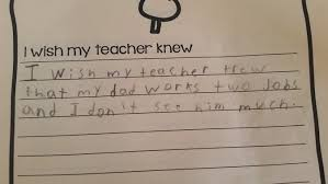 what kids wish their teachers knew the new york times photo