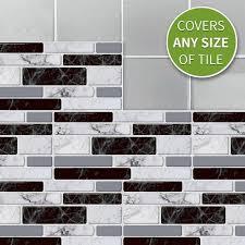 27pcs waterproof imitation brick tile