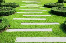 patio stones with grass in between. Modren Stones Rustic Wooden Stepping Stone Path Throughout Patio Stones With Grass In Between T