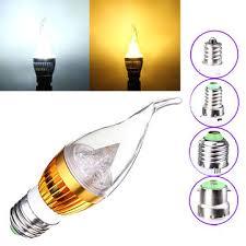dimmable <b>e27</b> e14 e12 b22 4.5w <b>220v led</b> chandelier candle <b>light</b> ...