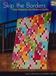 Skip the Borders - Easy Patterns for Modern Quilts - BOOK by ... & Image is loading Skip-the-Borders-Easy-Patterns-for-Modern-Quilts- Adamdwight.com