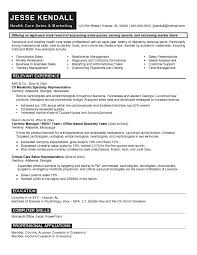 medical marketing resume