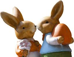 Cute Couple Png Free Cute Easter Rabbit Couple Png Image