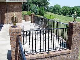 deck wrought iron table. Wrought Iron Deck Railing Ideas New Decoration Advantages In Plans 9 Table
