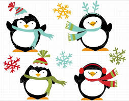 holiday penguin clip art.  Clip Image Of Holidays Clip Art 7913 Holiday Penguin Free In  In I