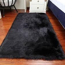 faux fur sheepskin area rug
