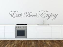 eat drink enjoy kitchen dining room amazing vinyl wall stickers high quality