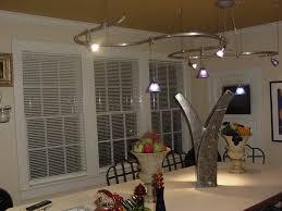vertical track lighting. Brushed Nickel Kitchen Track Lighting White Vertical Blinds Frame Windows Fruit Bowl Table Decoration N