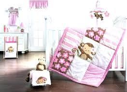 girl monkey crib bedding sets jungle crib bedding set baby girl monkey crib bedding 2 pretty