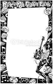 47 rock and roll wallpaper borders on