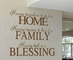 family vinyl wall art quotes