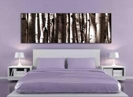 Living Room Artwork Decor Sepia Panoramic Aspen Tree 20x60 Inch Or 12x36 Canvas Print Large