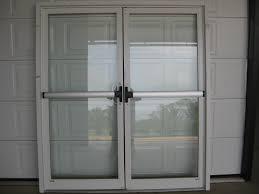 commercial double action glass door