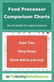 Food Comparison Chart Food Processors Comparison Charts Bestsellers