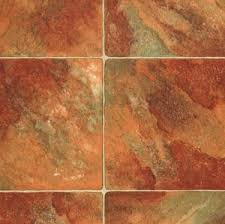 Rhinofloor Choice Tiles   Sydney Terracotta