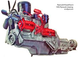 flat head engines plymouth dodge desoto chrysler six and eight powerflow 6 engine