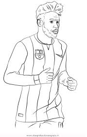 Disegno Neymar Categoria Sport Da Colorare
