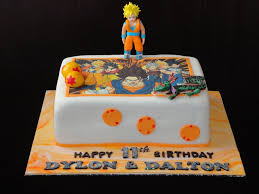 Dragon Ball Z Cake Decorations Dragon Ball Z Cake CakeCentral 2