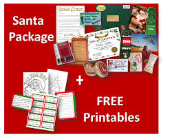 santa packages top santa letters the santa package includes so many exclusive secret gifts that this is the first year a lot of the items have ever been released to the public