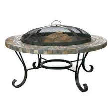 UniFlame 34 In Slate Tile Fire PitWAD931SP  The Home DepotHome Depot Fire Pit