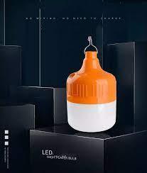 SIÊU SÁNG] Bóng đèn LED sạc tích điện 50w 2 chế độ - Bảo hành 06 tháng