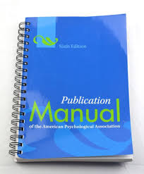 Publication Manual Of The Apa Sixth Edition 6th Spiral Bound Used