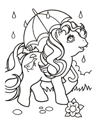 Small Picture Printable Umbrella Coloring Page Kids Coloring Pages Pinterest