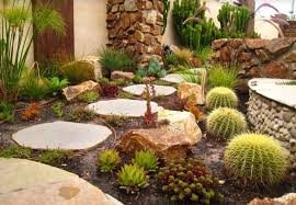 Small Picture Desert Rock Garden Ideas Amazing Desert Rock Garden Ideas With