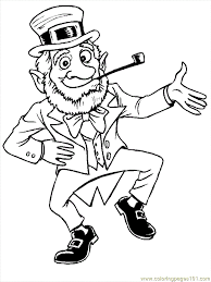 These printable coloring pages are also good for them not to be bored and to be artistic. Coloring Pages Leprechauns Peoples Leprechauns Free Printable Coloring Page Online Leprechaun Pictures Coloring Pages For Kids St Patricks Day Pictures