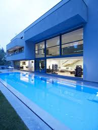 Swimming Pool:Modern Small Indoor Swimming Pool Design With Stone Surround  Ideas Modern Stunning Swimming