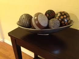 Decorative Ball Bowl Simple Bowl Decorative Balls Decorative Design