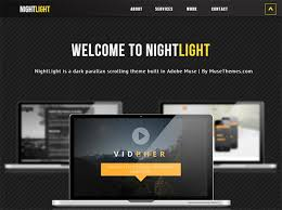 Muse Website Templates Inspiration 28 Parallax Scrolling Website Templates Themes Free Premium