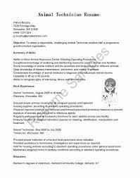 Vet Tech Resume Samples 60 Veterinary Technician Resume Sample Ambfaizelismail 15