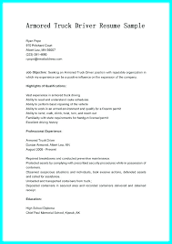 Cv For Driver Job Driver Resume Template Sample Operator Job Description