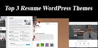 Top 3 Resume Wordpress Themes Free Premium 2017 Free Premium