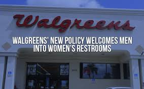 Afa Net Walgreens New Policy Welcomes Men Into Womens Restrooms