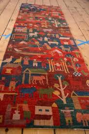 folk art rugs new plush wool pictorial folk art rug runner folk art hooked rugs