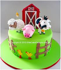 Farm Animals Birthday Cake 1st Birthday Cakes Sydney Australia