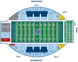 Fiu Football Stadium Seating Chart Old Dominion Monarchs 2018 Football Schedule