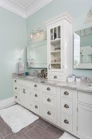 Image Gray Owners Ensuite master Bath In New Home Includes Custom Vanity Featuring Inset Cabinets Cliqstudios Bathroom Remodeling With Premium Quality Cabinets Cliqstudios