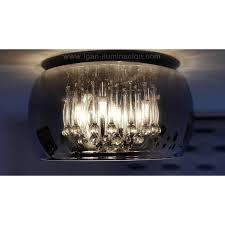 schuller argos 40cm ceiling lamp chrome