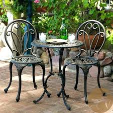 small patio table and chairs outdoor small table and chairs small outdoor table set black metal small patio table