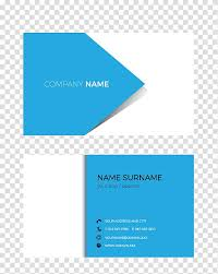 Company Name Poster Business Cards Visiting Card Logo