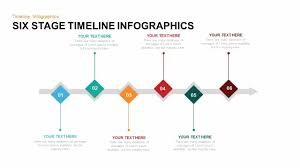 Timeline Powerpoint Slide 6 Stage Timeline Infographic Powerpoint Template And Keynote