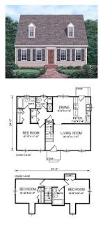 cape cod house plan plans best images on houses home with photos car garage under
