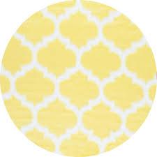 nuloom faux sheepskin shaunna yellow 5 ft x round area rug
