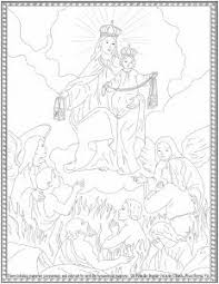 Click the kida coloring pages to view printable version or color it online (compatible with ipad and android tablets). Our Lady Of Mt Carmel Coloring Sheets