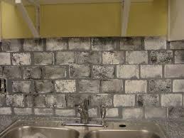 Brick Backsplash Kitchen Brick Backsplash Faux Brick Backsplash White Kitchen White